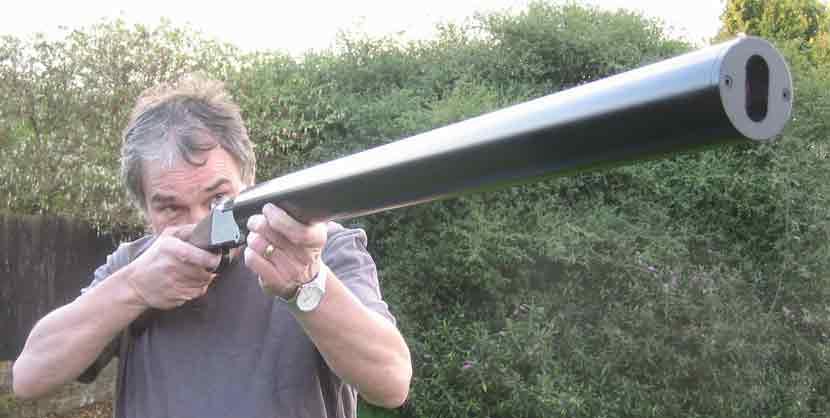Глушитель на гладкоствольное ружье 12 калибра своими