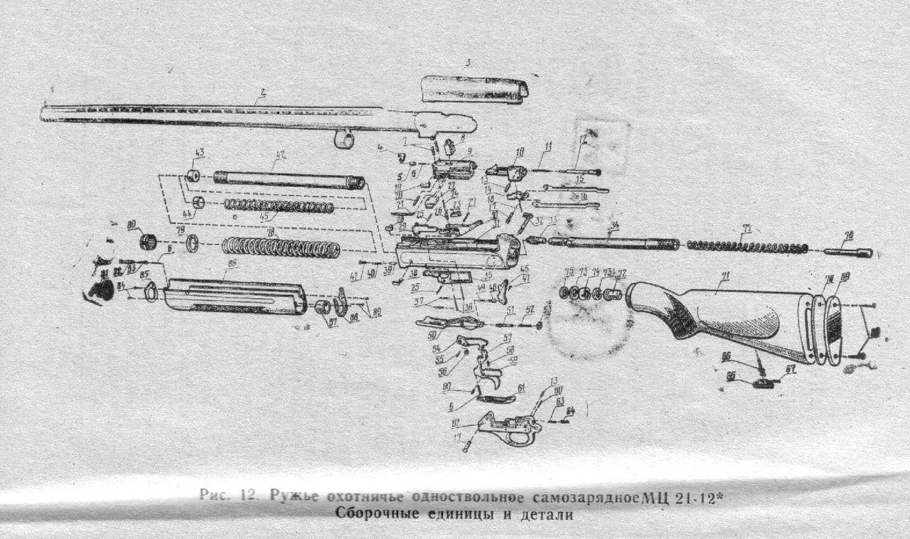 взрыв-схема сайги 12