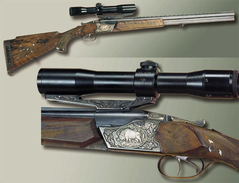 """Для такой охоты в арсенале имеются: карабин  """"Тигр """" и ружье ТОЗ-55  """"Зубр """" - просто замечательное оружие с нарезными..."""