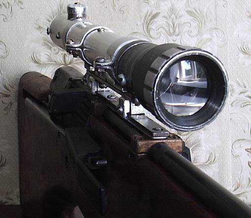 Оптический прицел своими руками
