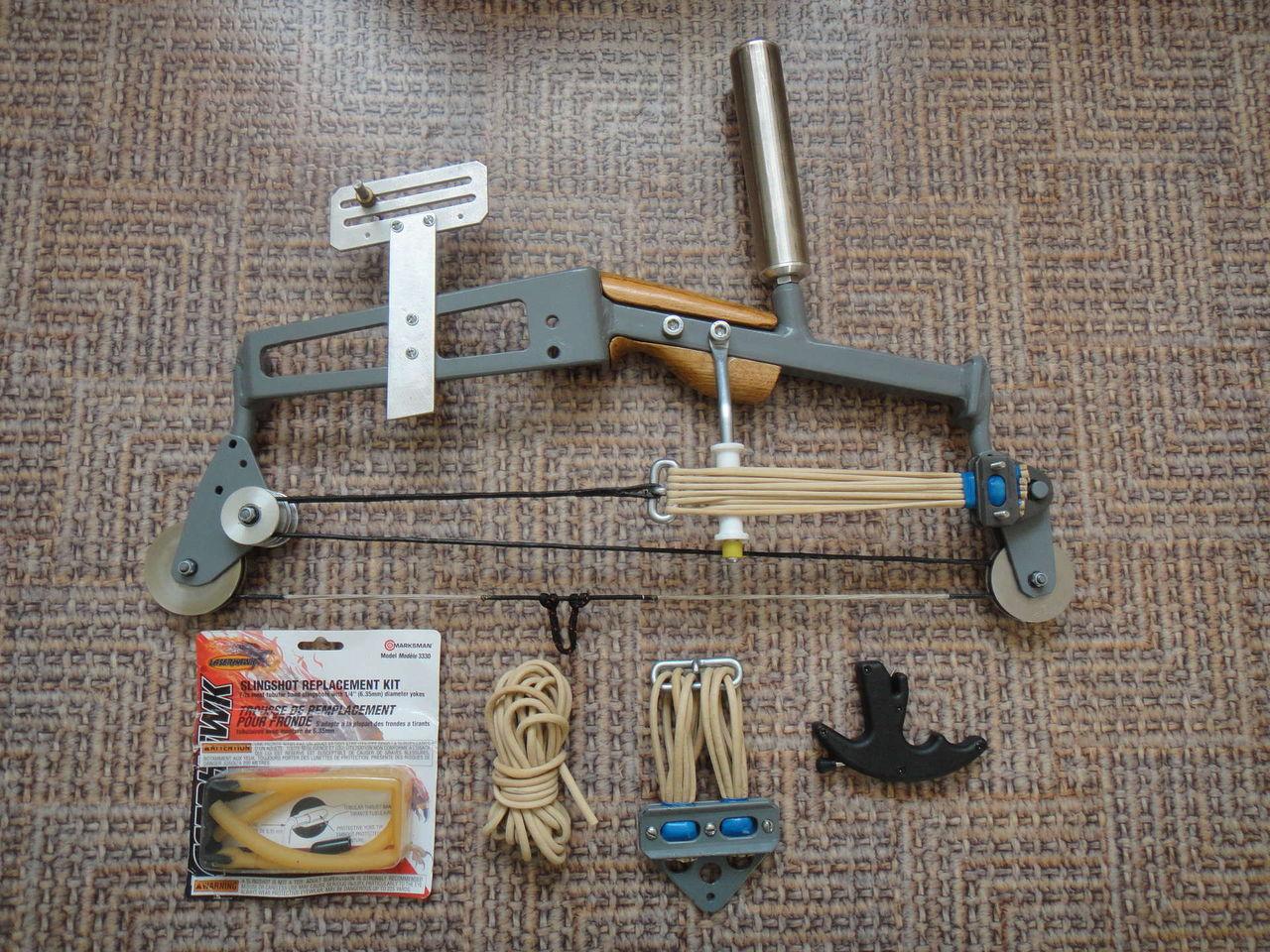 Инструкция по сборке и обращению с классическим луком 329