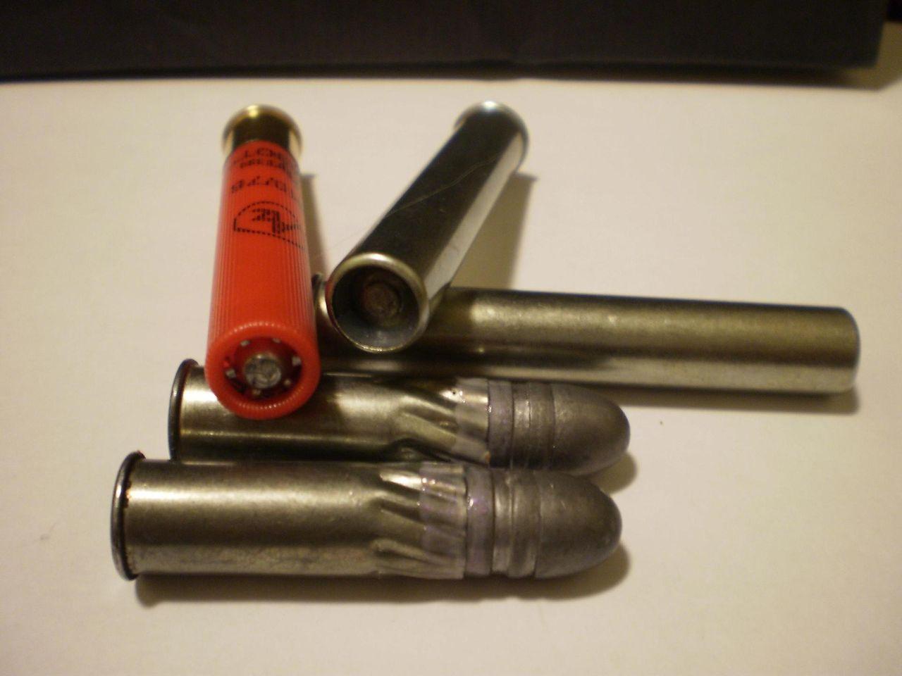 Как сделать патрон к ружью 184