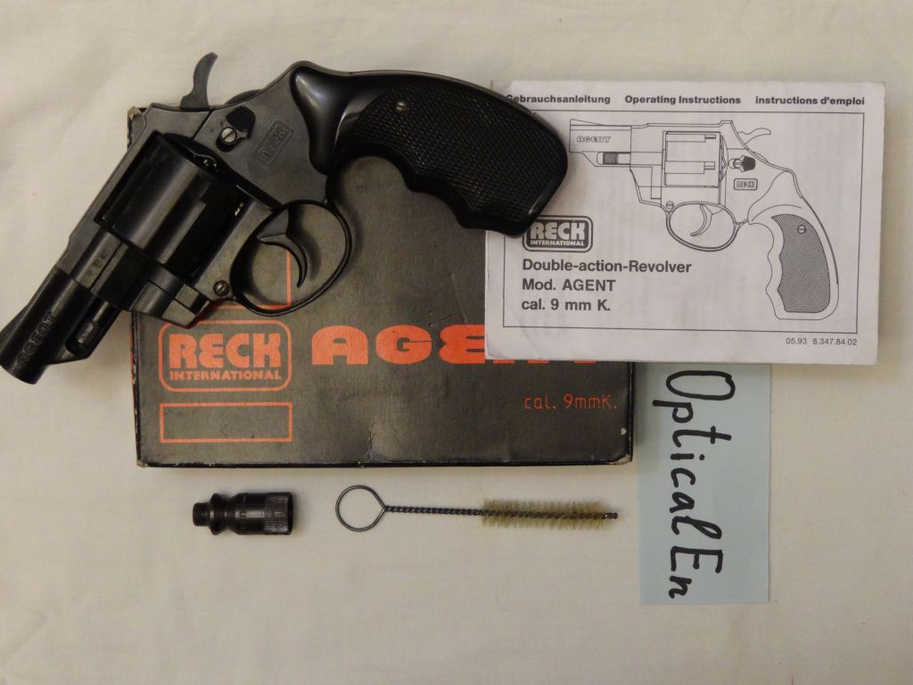 RECK Agent 45 - Оружие самообороны