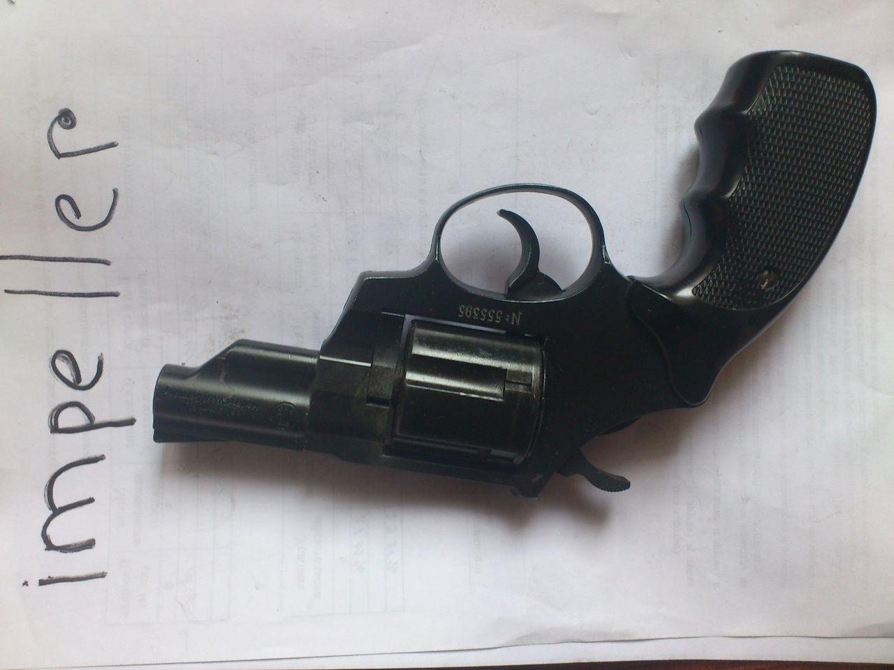 Продам газовый револьвер RECK Agent 9мм, системы Смит-Вессон