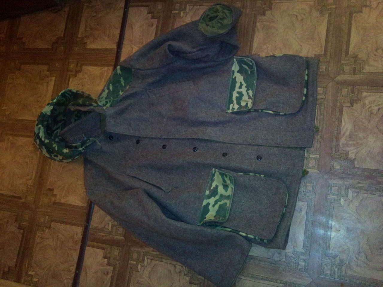 Суконная куртка для охоты своими руками