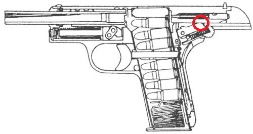 Как сделать механизм пистолета