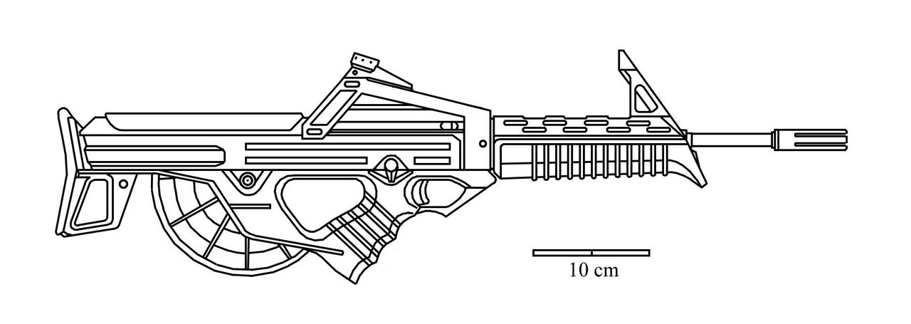 Оружие раскраска распечатать