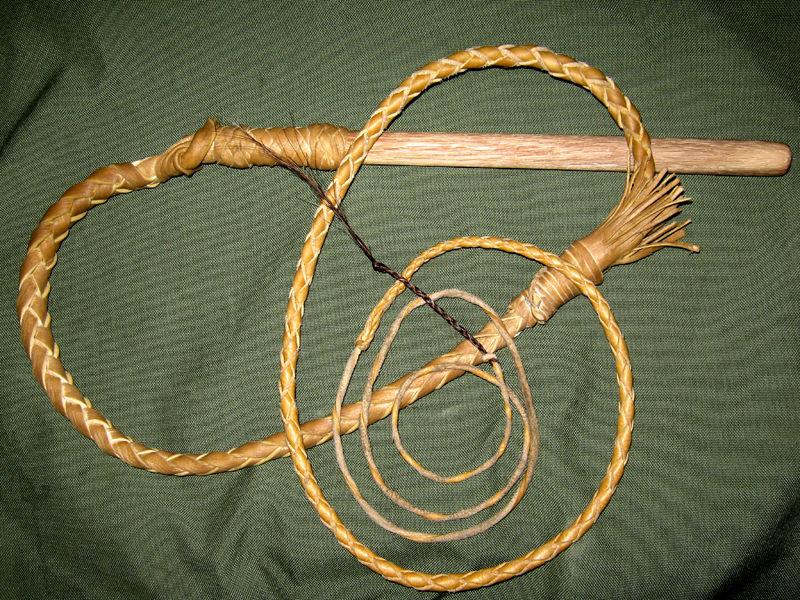 Плетение бичей своими руками из шпагата