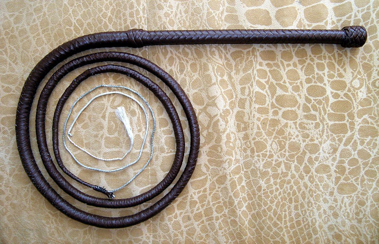 Как сделать кнут из верёвки