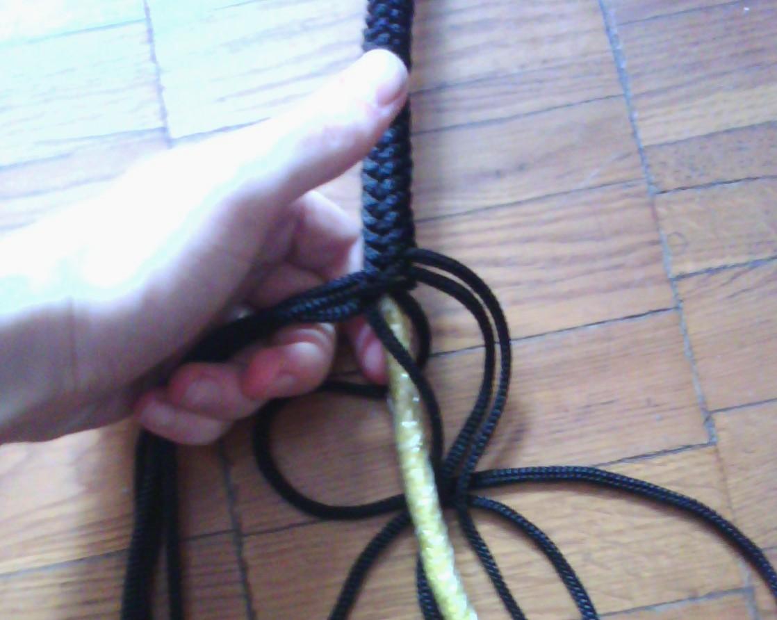 Кнут из веревки своими руками видео
