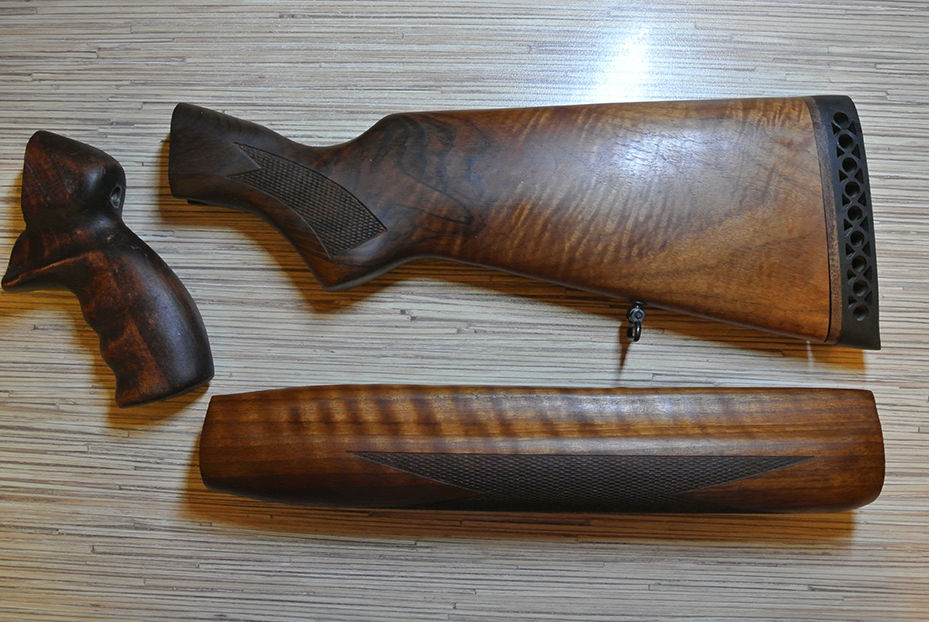 рукоятка ружья своими руками