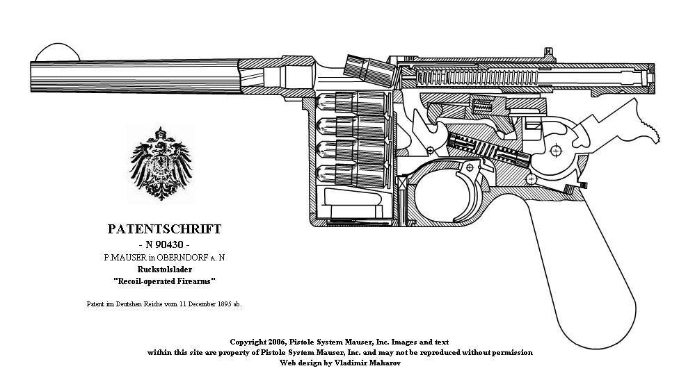 Mauser C-96. Флэш-анимация