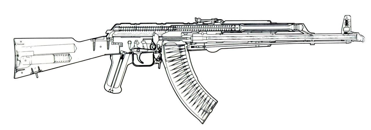 Деревянный пистолет своими руками чертеж