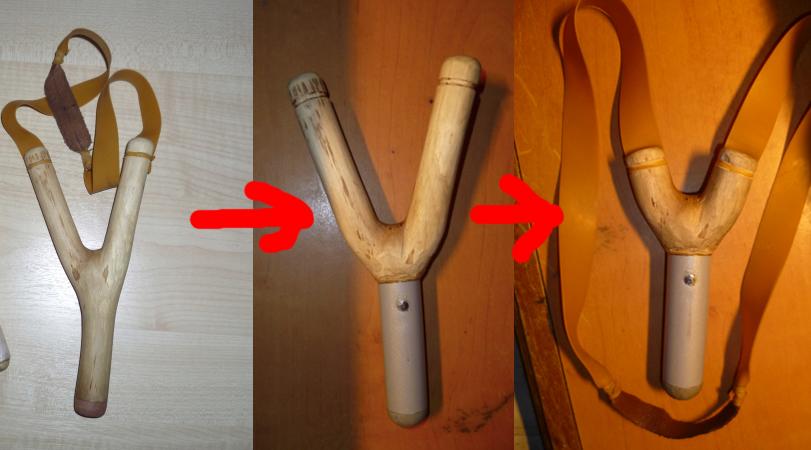 Как сделать в домашних условиях хорошую рогатку