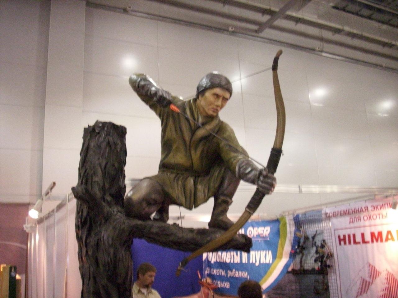 фото с выставки охота и рыбалка на крокус экспо
