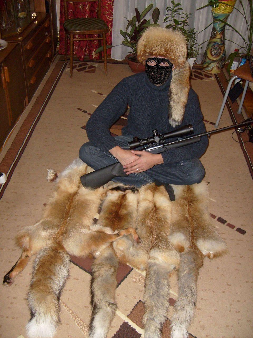Как в домашних условиях выделать шкуру лисы