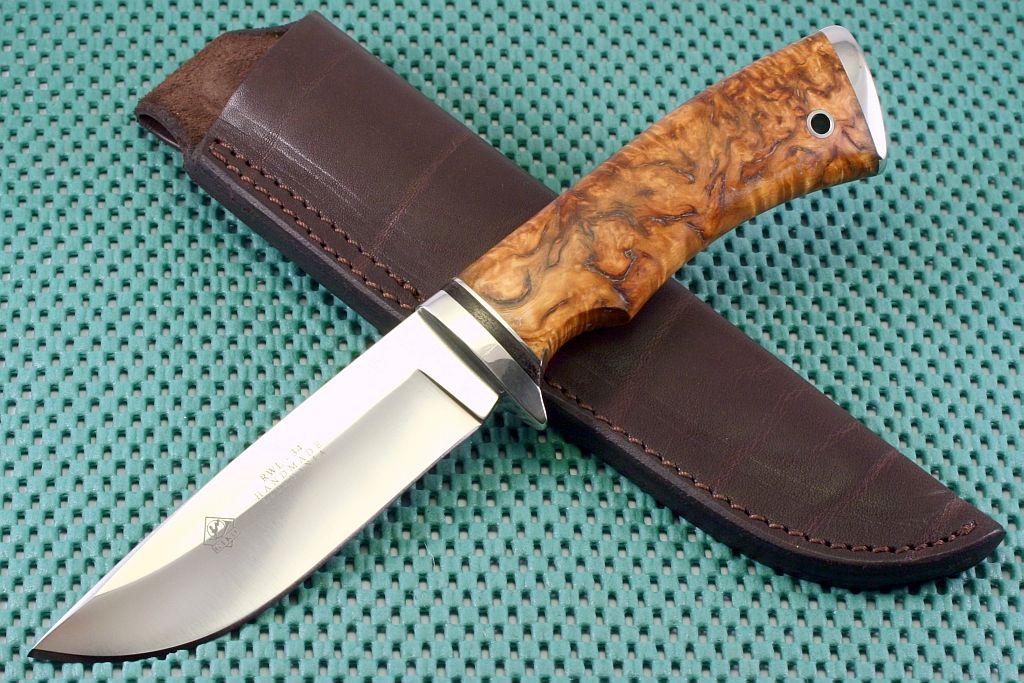 Охотничий нож своими руками фото