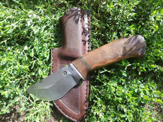Как сделать нож своими руками для охоты 84