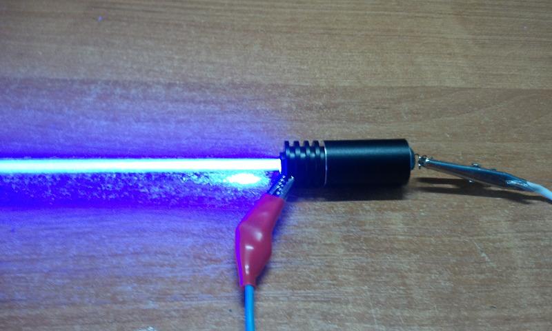 Как сделать лазер на фото 371
