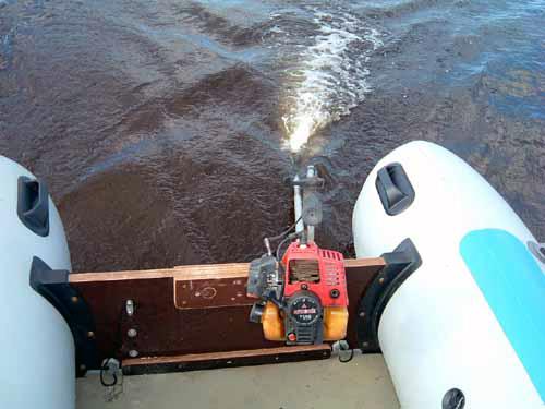 косилка на лодке видео