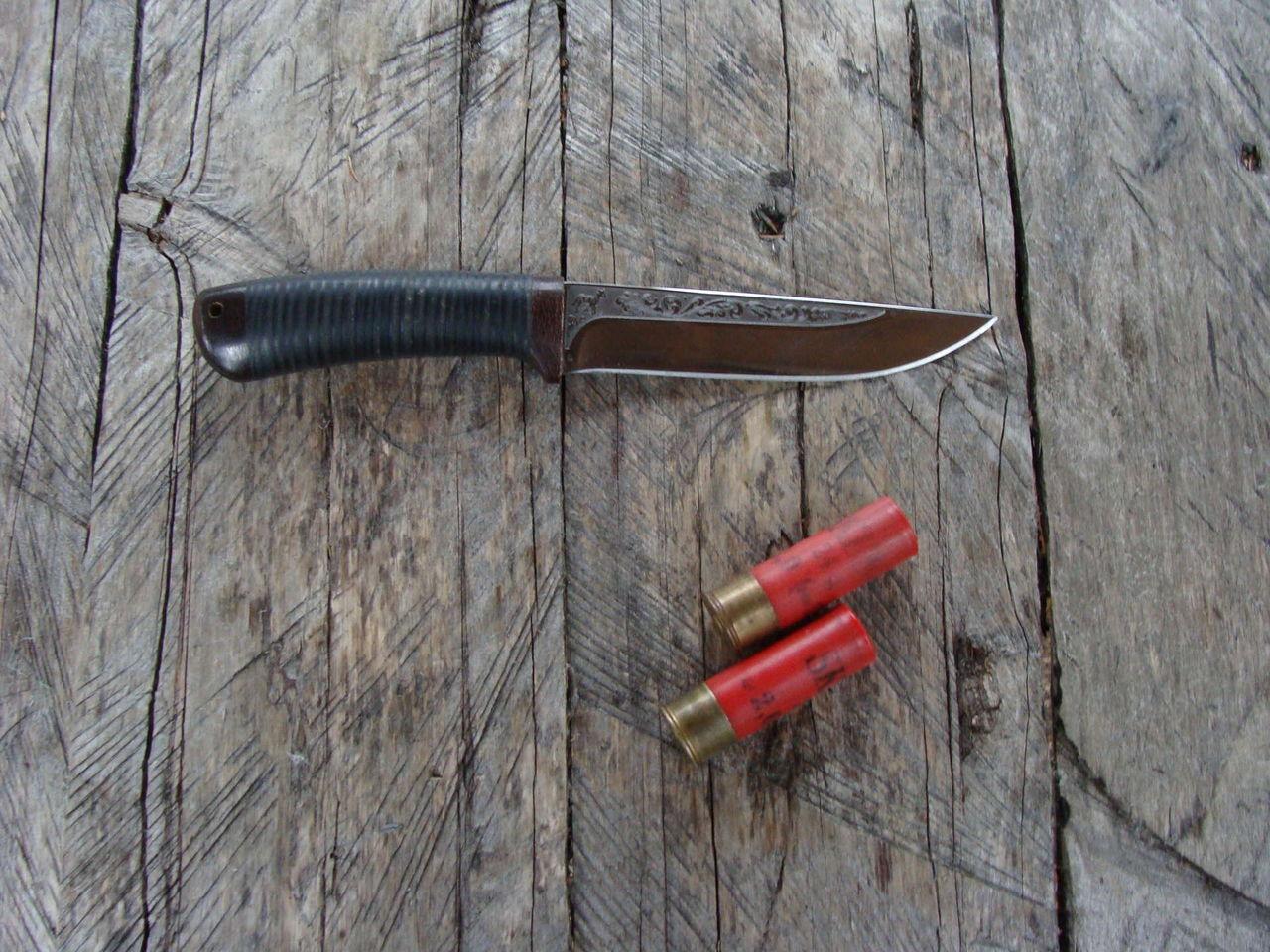 Нож для рыбалки и охоты своими руками 47