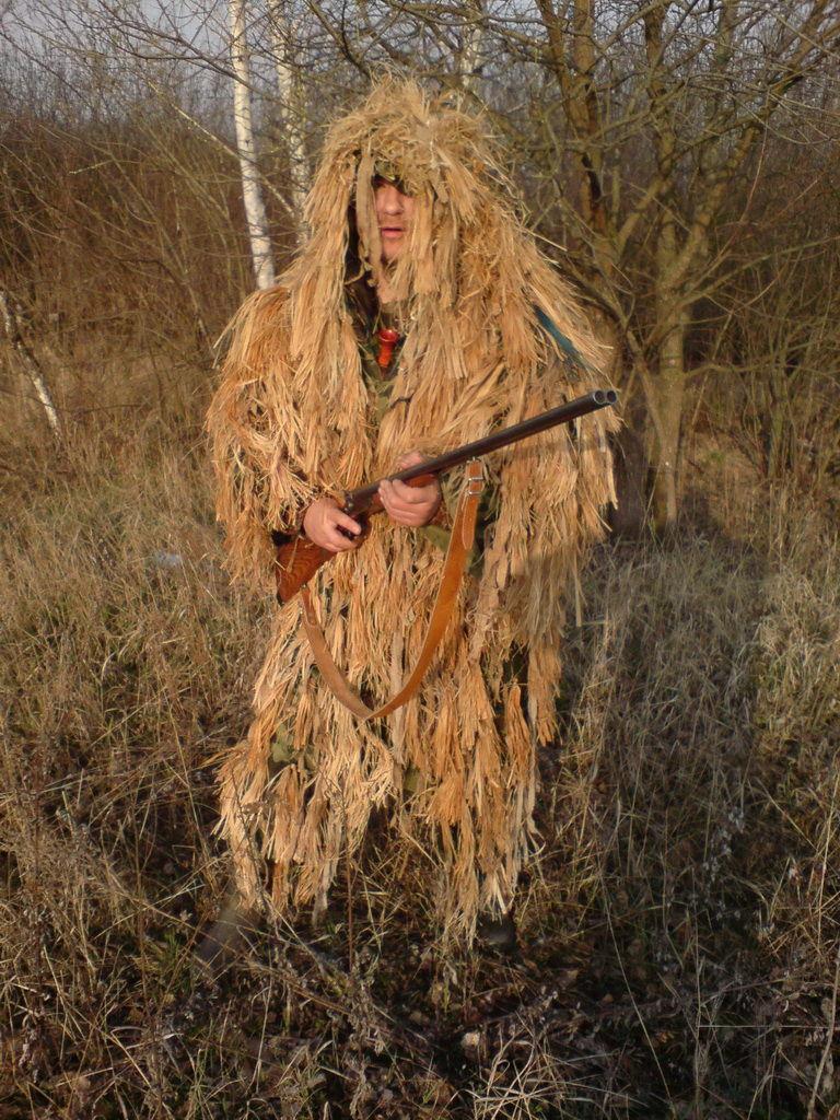Сделать костюм лешего для охоты своими руками 98
