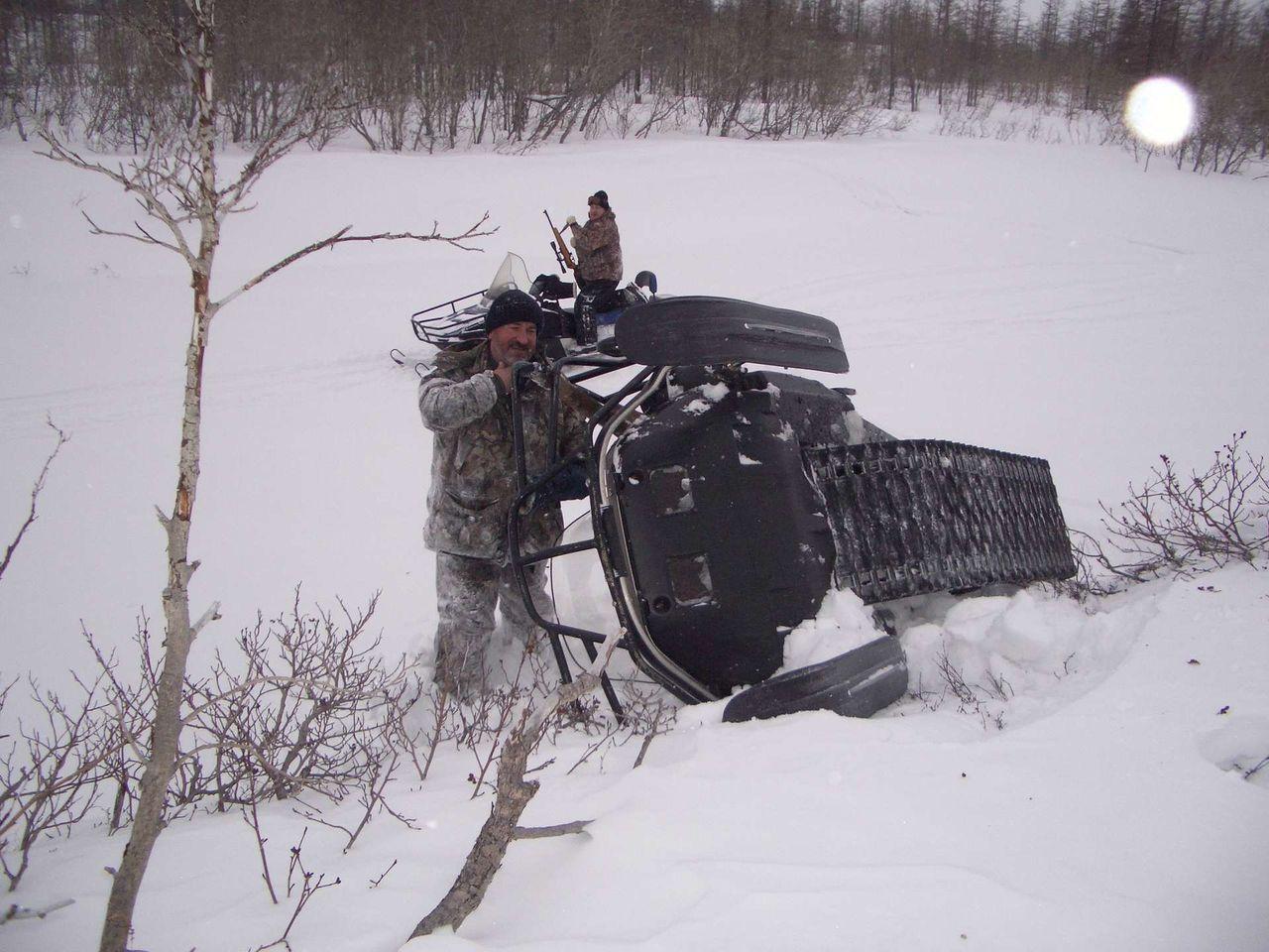 какой лучше снегоход для охоты рыбалки и
