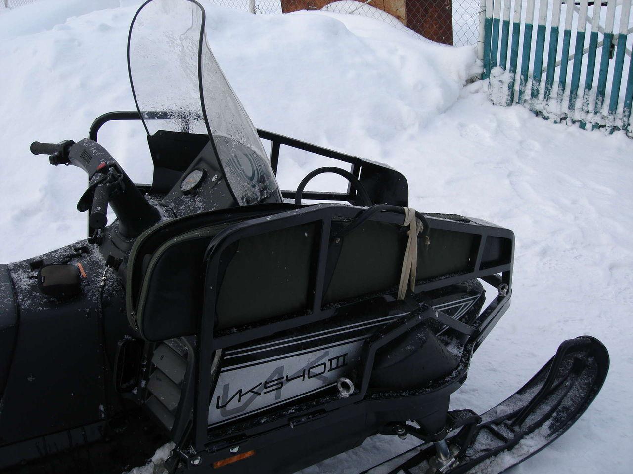 Бампер на снегоход своими руками 83