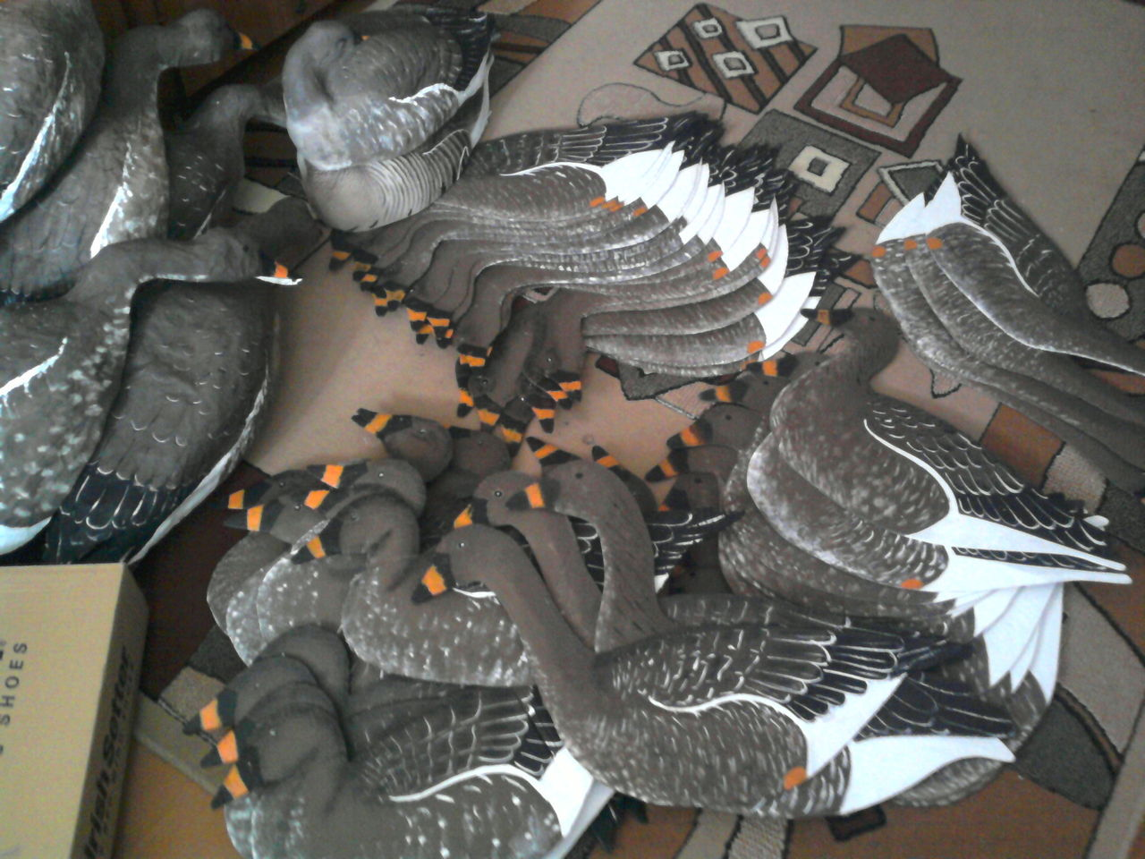 Охота на гуся профиля своими руками фото 488