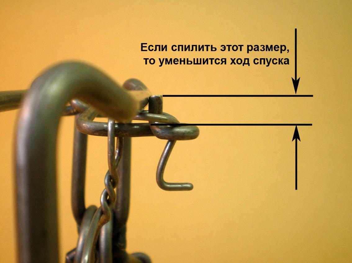 Изготовление пружины капкана своими руками