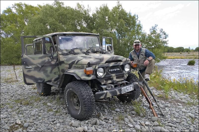 джип для охоты и рыбалки видео