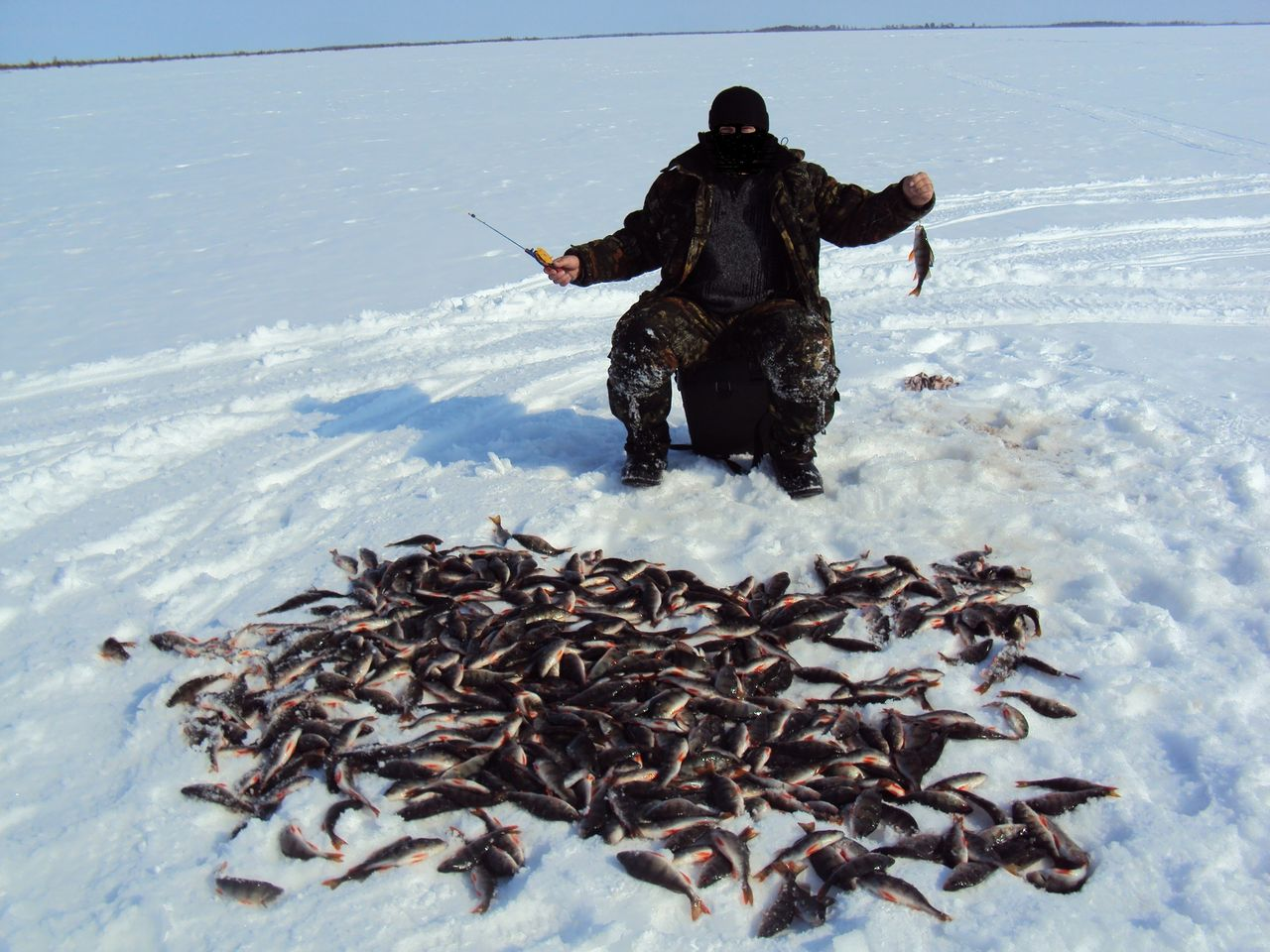 рыбалка на озере ендра хмао