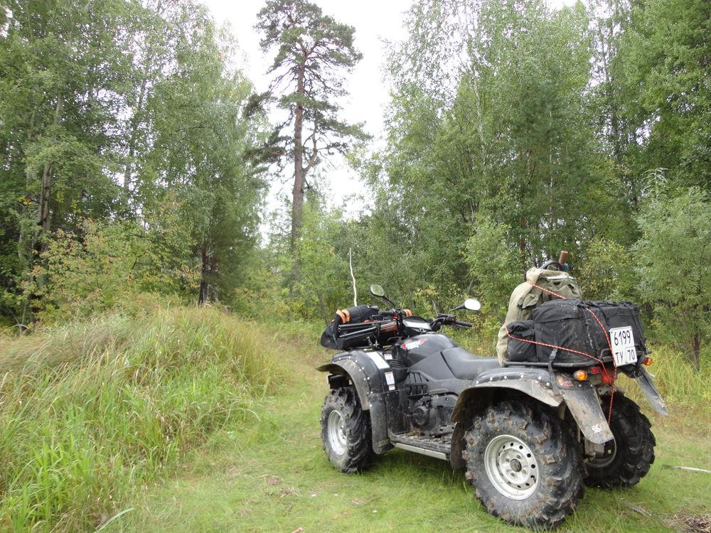 квадроцикл для охоты и рыбалки фото