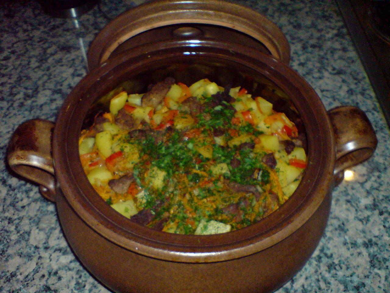 Шурпа из говядины в горшочке в духовке рецепты 2