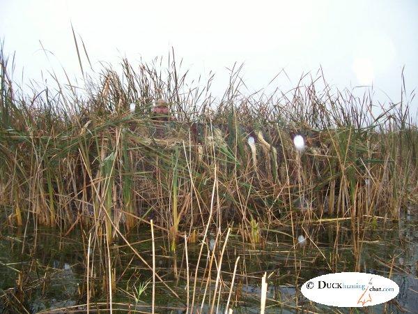 Как сделать скрадок на уток на озере