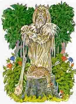 бог охоты и рыбалки у славян