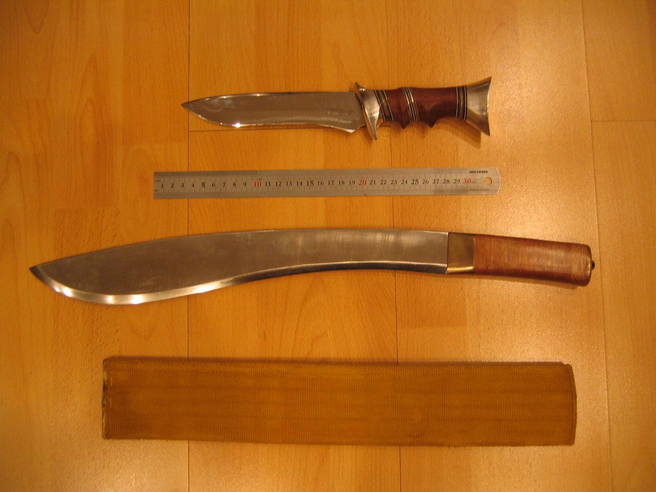 Охотничье ножи своими руками