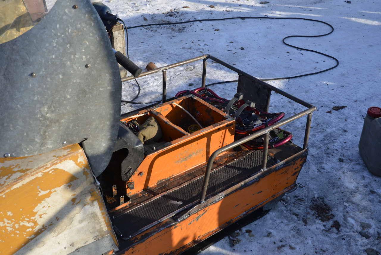 Модернизация снегоходов своими руками фото