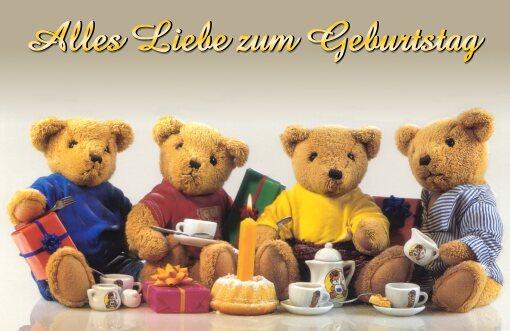Открытки с днем рождения не немецком языке