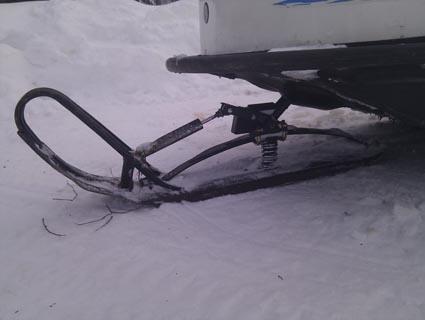 Лыжа буран своими руками