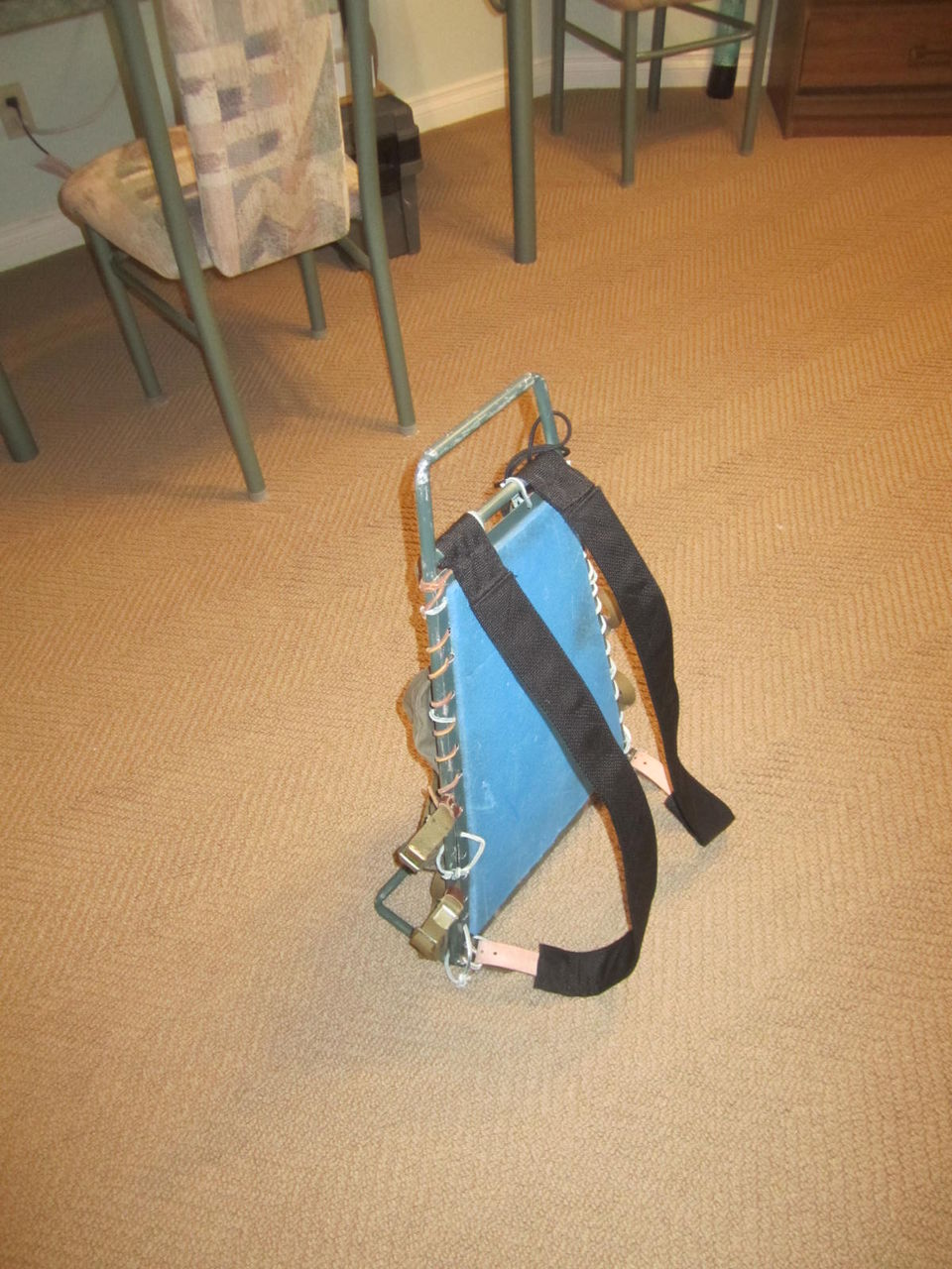 Фото как сделать каркас для рюкзака