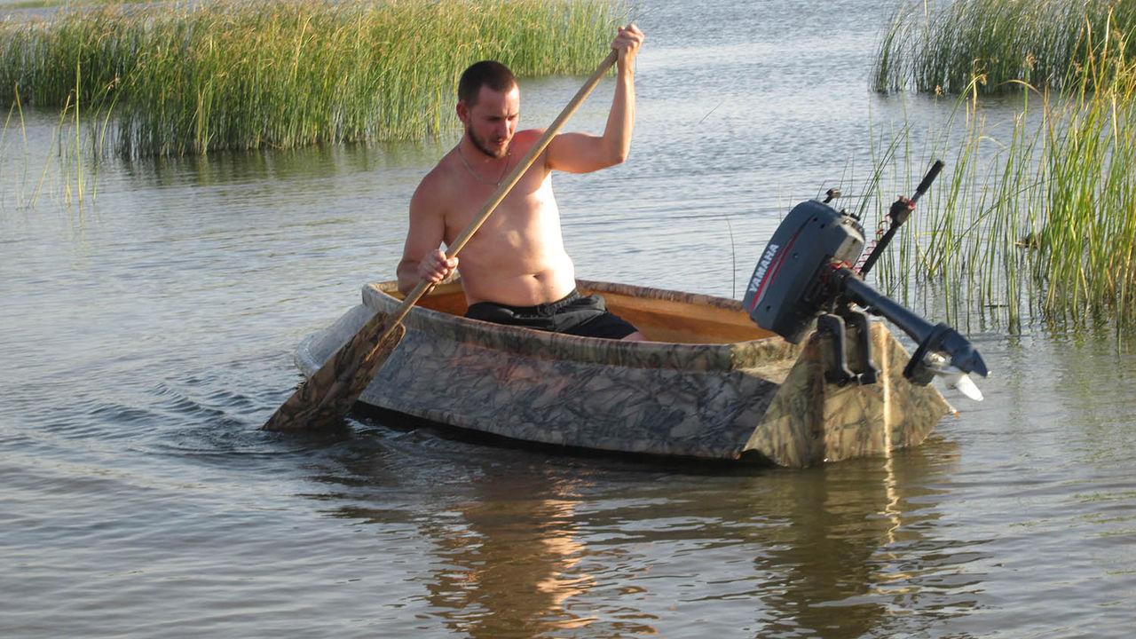 лодка для утиной охоты своими руками