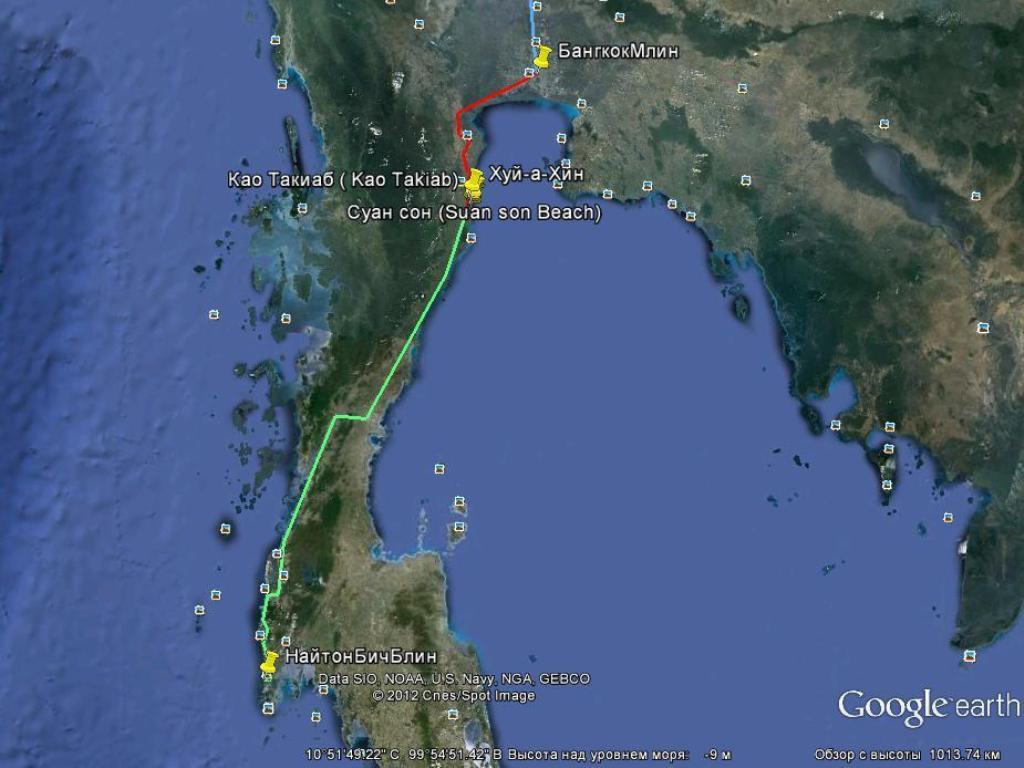 Сколько лететь от бангкока до самуи