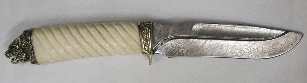 Рукоятка для ножа из кости