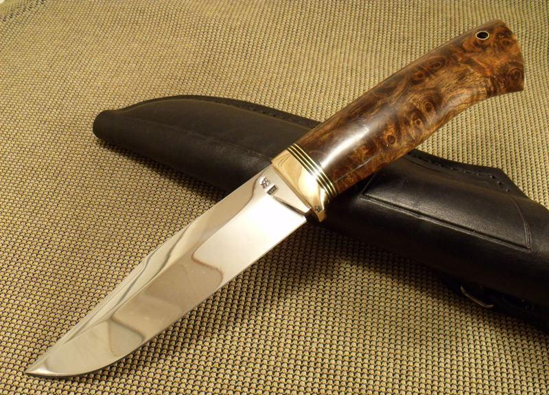 Рукоять из капа для ножа