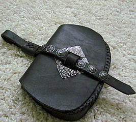 Средневековая поясная сумка (стилизация) .