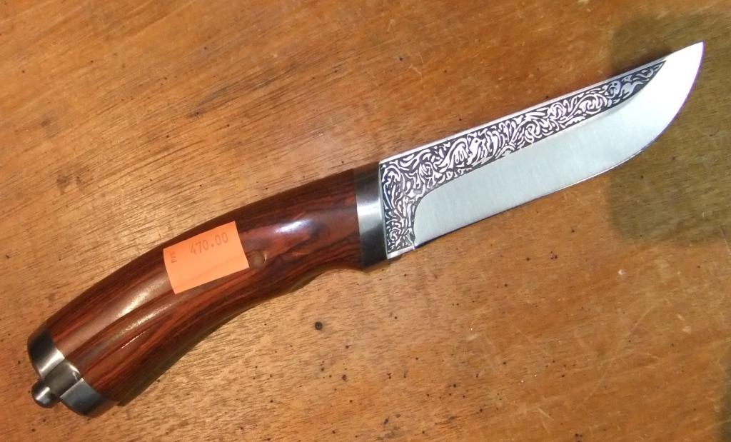 Нож из сверла фото