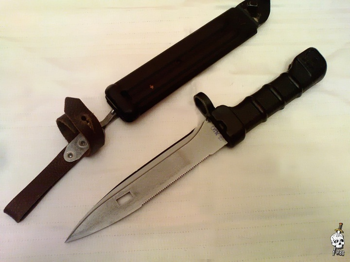 Как сделать штык нож из железа