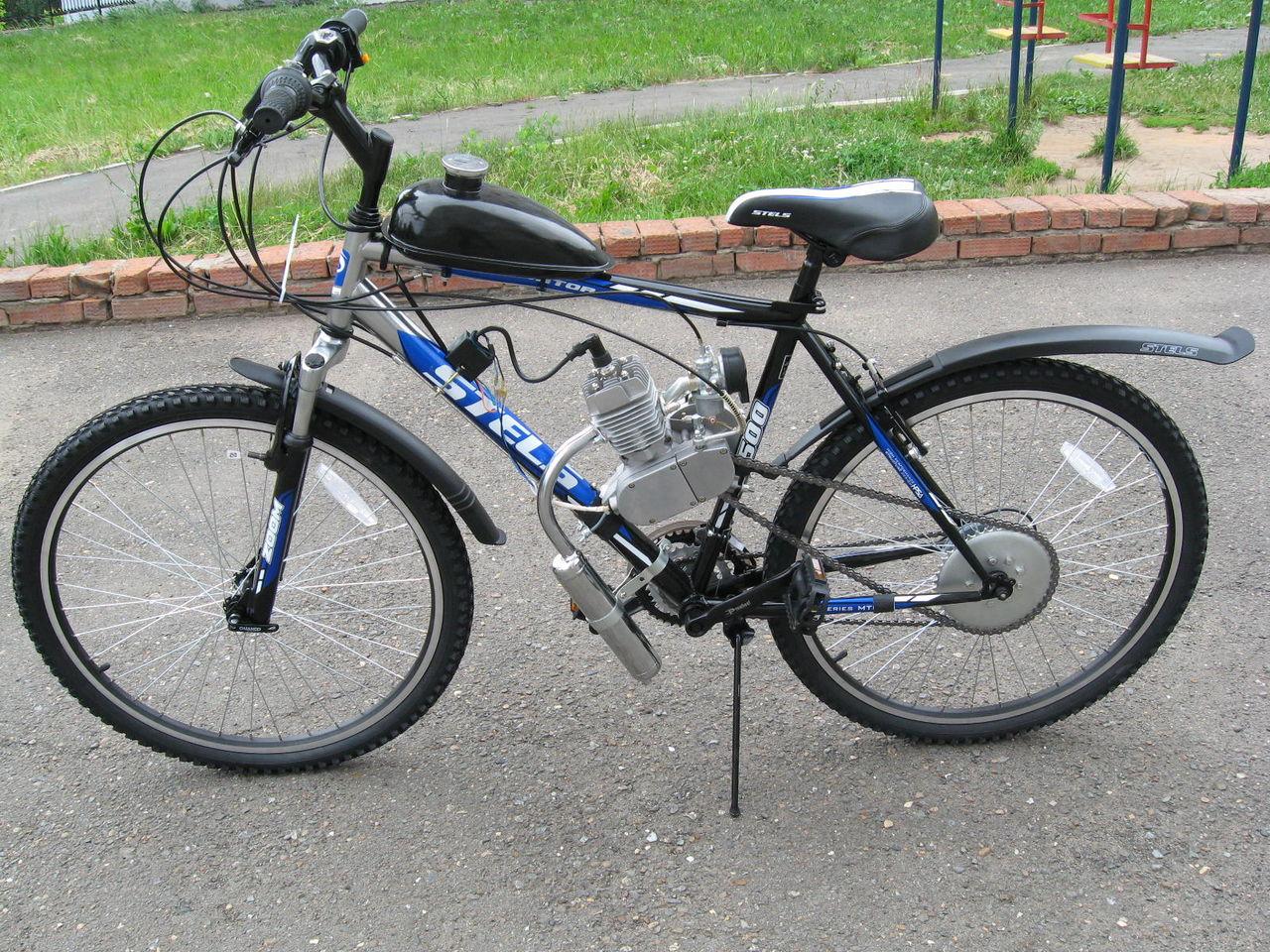 Мотор бензиновый для велосипеда своими руками