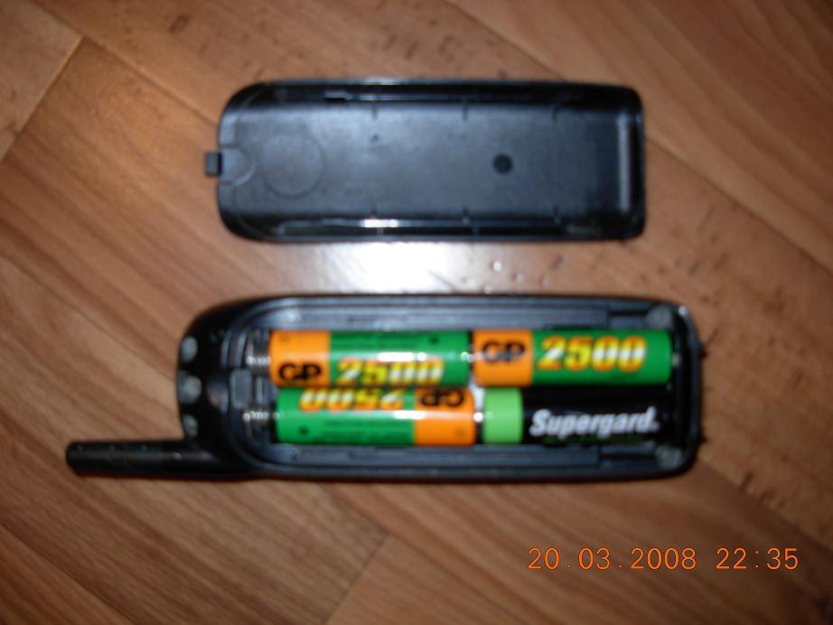 один объем батареи моторолла 2288 эксперимента